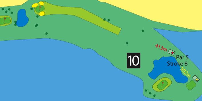 Milnerton Golf Course Hole 10