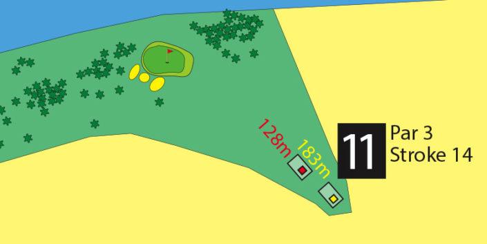 Milnerton Golf Course Hole 11