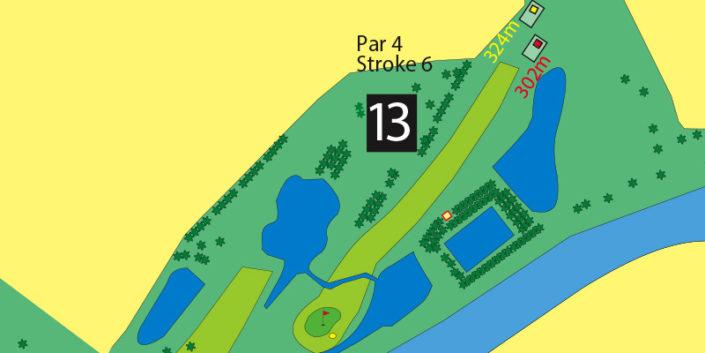Milnerton Golf Course Hole 13