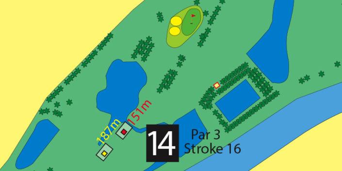 Milnerton Golf Course Hole 14