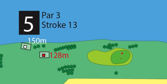 Milnerton Golf Course Hole 5