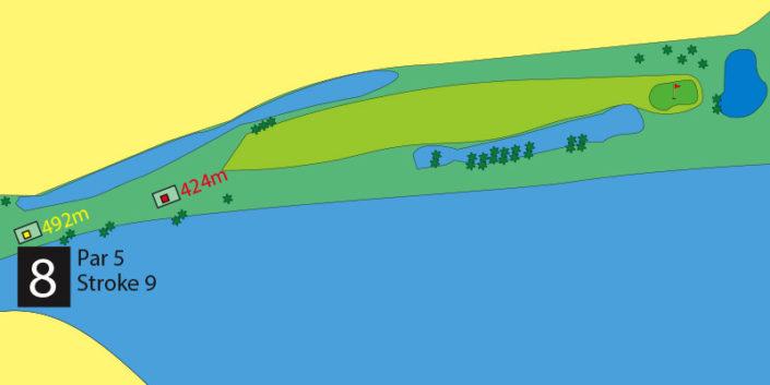 Milnerton Golf Course Hole 8