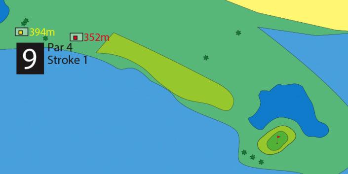 Milnerton Golf Course Hole 9