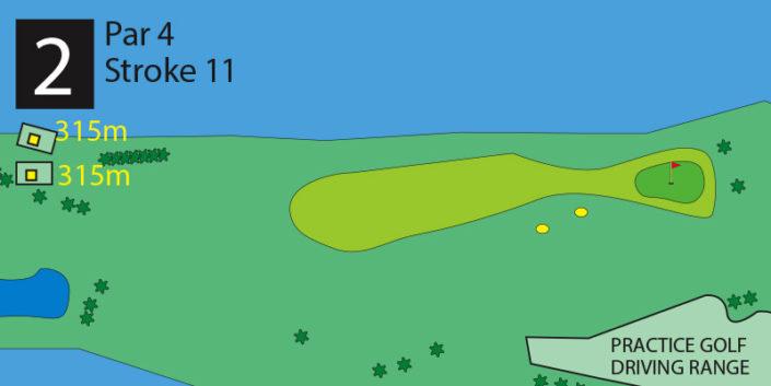 Milnerton Golf Course Hole 2